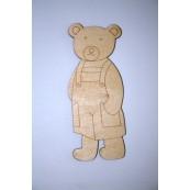 Element decorativ din lemn: Ursulet