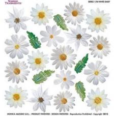 Folie Sospeso Trasparente- White Daisy