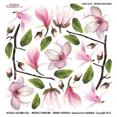 Folie Sospeso Trasparente- Branch Magnolia