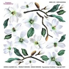 Folie Sospeso Trasperente- White Magnolia